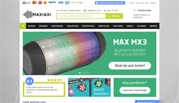 Screenshot MaxiAxi.com