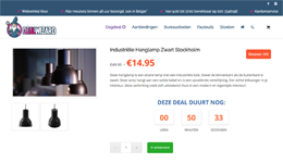 Screenshot Dealwizard.nl