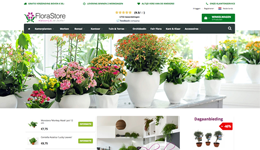 Screenshot florastore