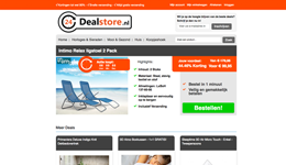 Screenshot 24dealstore.nl
