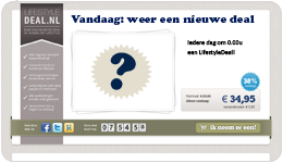 Screenshot LifestyleDeal.nl